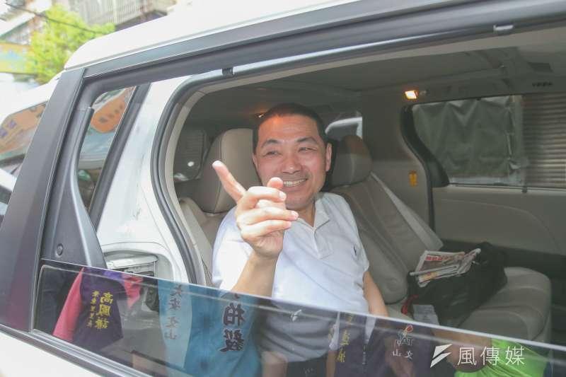 國民黨新北市長參選人侯友宜(陳明仁攝)