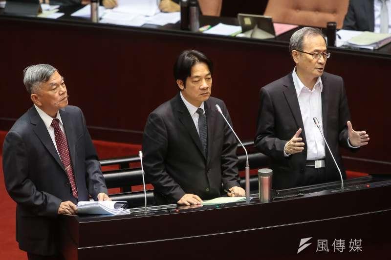 20180504-原能會主委謝曉星4日於立院針對能源政策備詢。(顏麟宇攝)