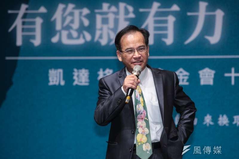前台南縣長蘇煥智籌組政黨,政黨名稱為「台灣維新」,將在本月24日舉行成立大會。(資料照,顏麟宇攝)
