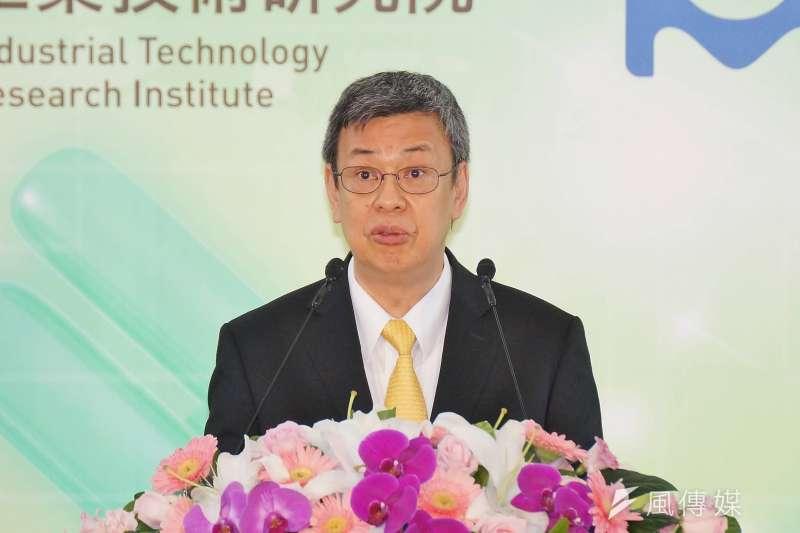 副總統陳建仁承諾,將改善缺地、缺人等「五缺」問題,協助台商掃除返台投資的各項障礙。(資料照,盧逸峰攝)