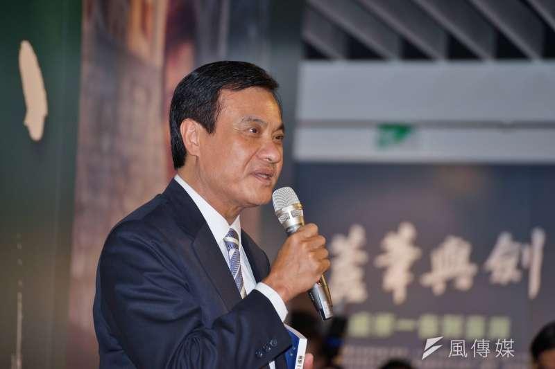 立法院長蘇嘉全今(24)晚發聲明表示「憤怒與遺憾」,並呼籲海內外國人同胞,不要因為中國接連的打壓而感到氣餒。(資料照,盧逸峰攝)