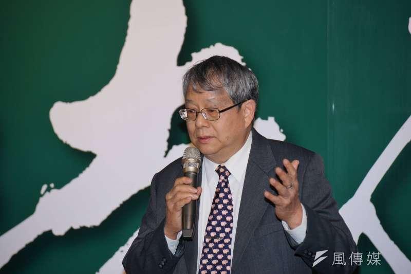 監察委員陳師孟申請自動調查「馬英九影響二次金改判決」。(盧逸峰攝)