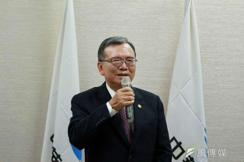 中華電信董事長鄭優。(陳韡誌攝)