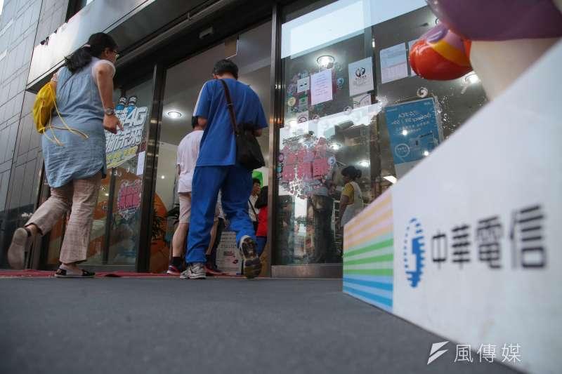 中華電信投資愛唱九九並非凱子之舉。(顏麟宇攝)