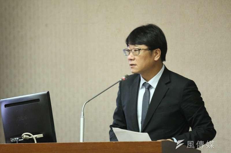 20180514-立法院內政委員會審查法案,立法委員趙正宇發言。(陳韡誌攝)