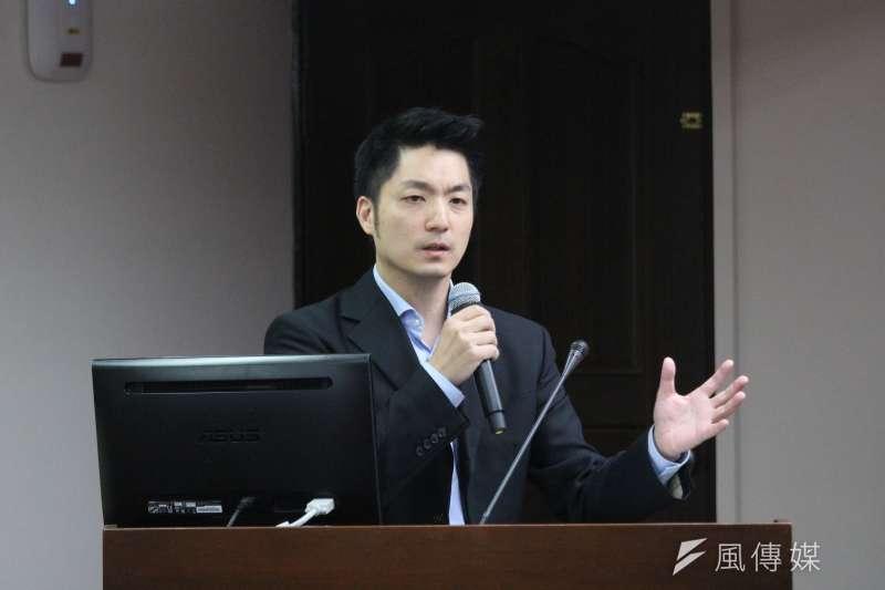 20180514-立法院社會福利及衛生環境委員會,立法委員蔣萬安發言。(陳韡誌攝)