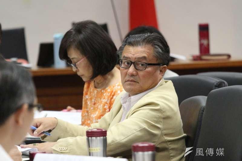 20180514-立法院經濟委員會審查法案,立法委員孔文吉出席。(陳韡誌攝)