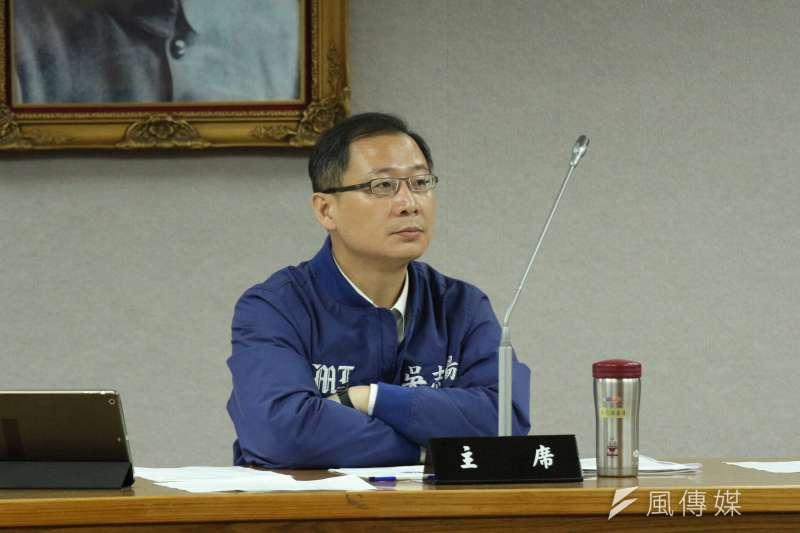 20180514-司法及法制委員會,立法委員吳志揚出席。(陳韡誌攝)