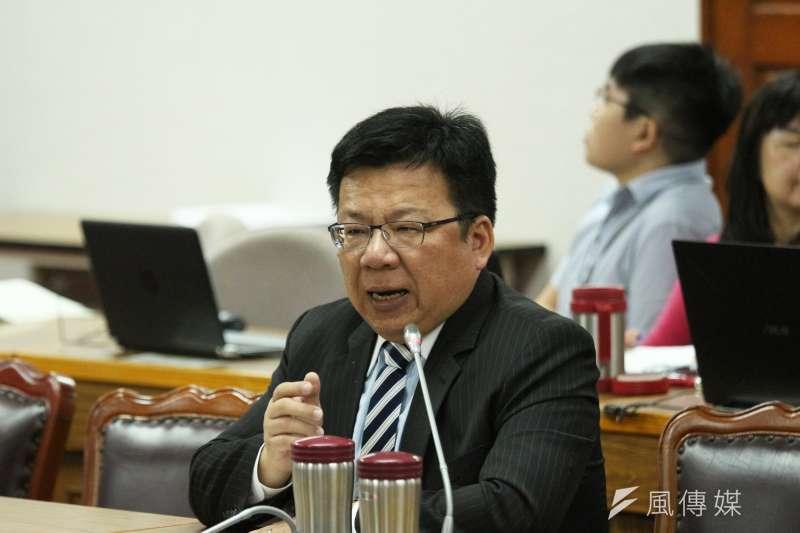 20180514-司法及法制委員會,立法委員李俊俋發言。(陳韡誌攝)