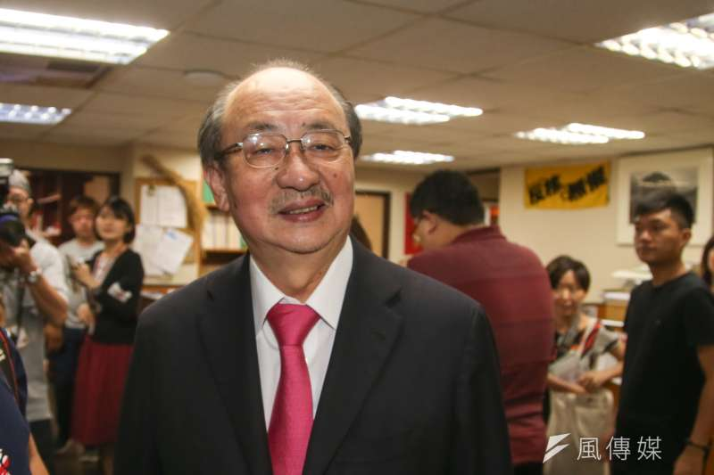 前總統馬英九被控洩密等案二審判有罪,民進黨總召柯建銘要馬英九「認罪吧」。(陳明仁攝)