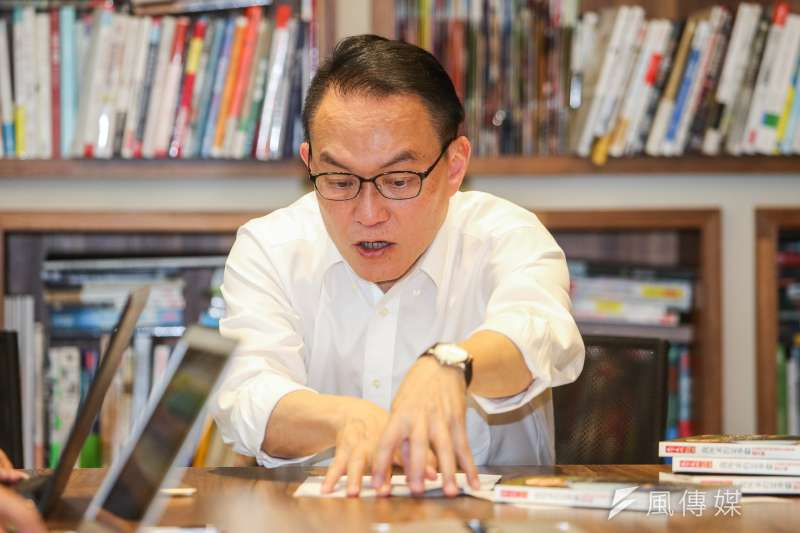 邱文祥(見圖)說,他與柯文哲是參選人中唯二具有市政經驗的人,但柯比較重視威權、不重視合作,而市政最重要是溝通協調。(資料照,陳明仁攝)