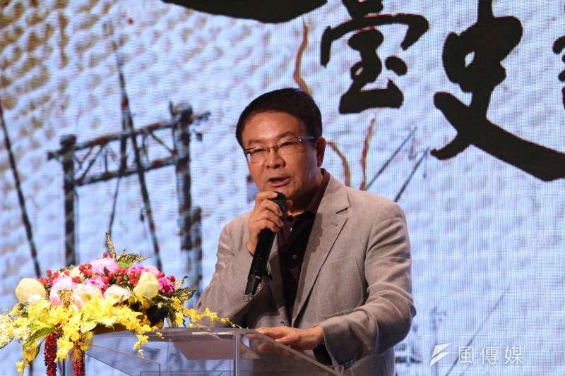 前海基會董事長、民進黨創黨大老洪奇昌認為,民進黨在九合一選舉大敗,這3個原因是關鍵。(資料照,陳韡誌攝)
