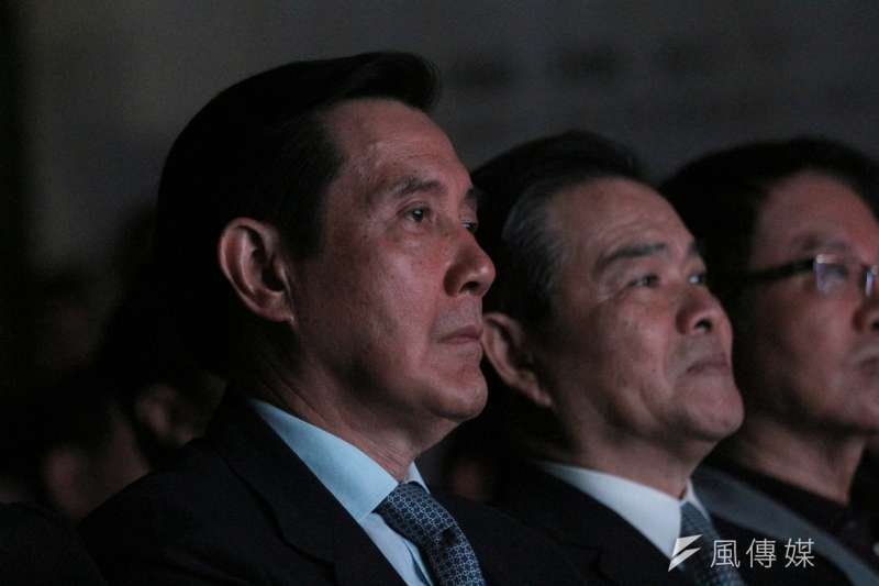 前總統馬英九因為「洩密案」被判四個月可易科罰金(可再上訴)。(陳韡誌攝)