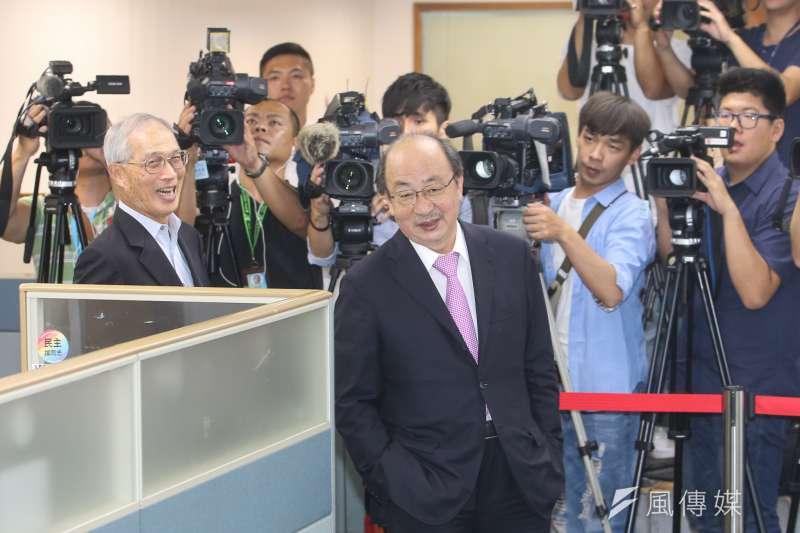 民進黨團總召柯建銘「遺憾」,並譴責中國爲打壓我國際外交空間不擇手段,如此只是將台灣人民推向更遙遠的距離。(資料照,陳明仁攝)