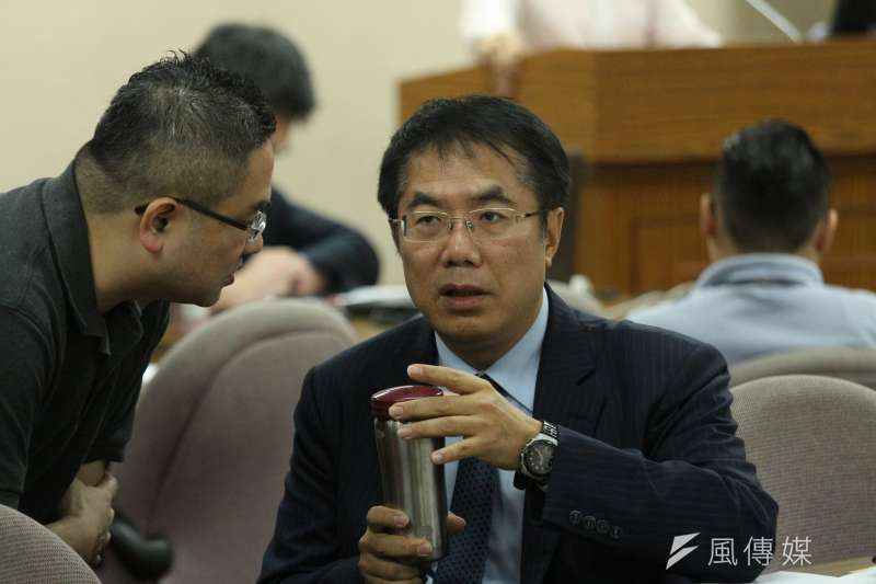 20180517-立法院外交及國防委員,立法委員黃偉哲出席。(陳韡誌攝)