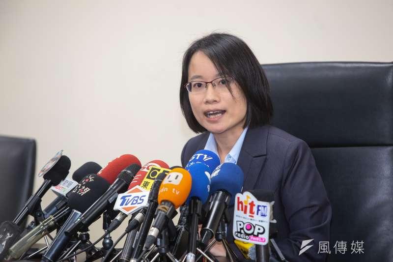 台北農產公司總經理吳音寧成了選戰消耗品。(顏麟宇攝)