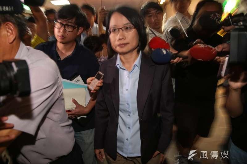 府院認為北農總經理吳音寧的「去職假新聞」是北市府所操作。(資料照,顏麟宇攝)