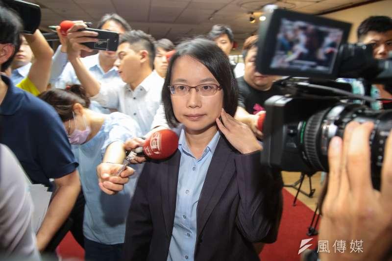 台北農產公司總經理吳音寧。(顏麟宇攝)