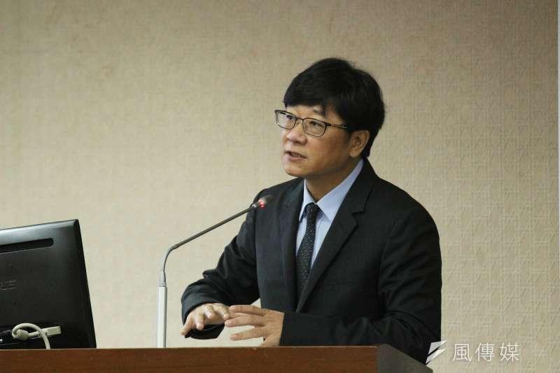 20180521-立法院內政委員會審查法案,立法委員趙正宇發言。(陳韡誌攝)