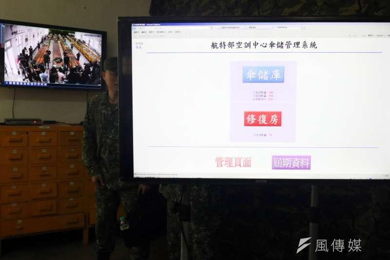 04_20180522_保傘連建置的倉儲和監視系統。(蘇仲泓攝)