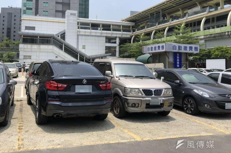 原來蓋自助式停車場還有這個用意?(示意圖/潘渝霈攝影)