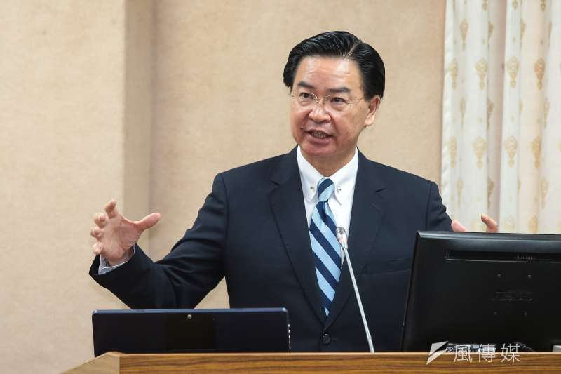 外交部長吳釗燮已經向總統請辭。(資料照,顏麟宇攝)