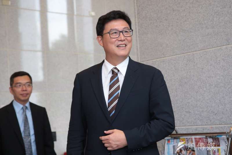 民進黨立委姚文智將代表民進黨參選台北市長。(資料照片,顏麟宇攝)