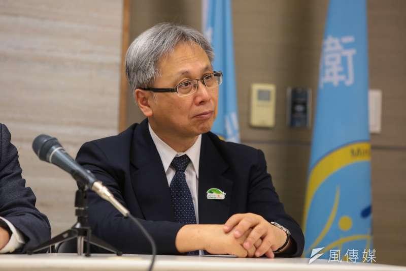20180526-衛福部國健署長王英偉26日出席世衛行動團返國記者會。(顏麟宇攝)