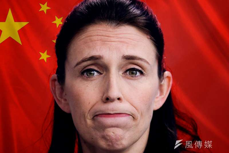 美國「哈德遜研究所」公布報告指出,中共幾乎無孔不入地滲透紐西蘭政壇、商界、傳媒,並透過華人社區組織統戰活動。紐西蘭總理雅頓。(AP,風傳媒後製)
