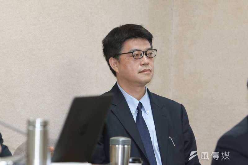 大陸委員會副主任委員 邱垂正出席立法院委員會列席報告並備質詢。(陳明仁攝)