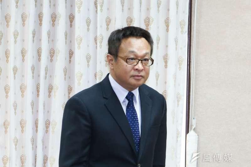 國安局副局長柯承亨出席立法院委員會列席報告並備質詢。(陳明仁攝)