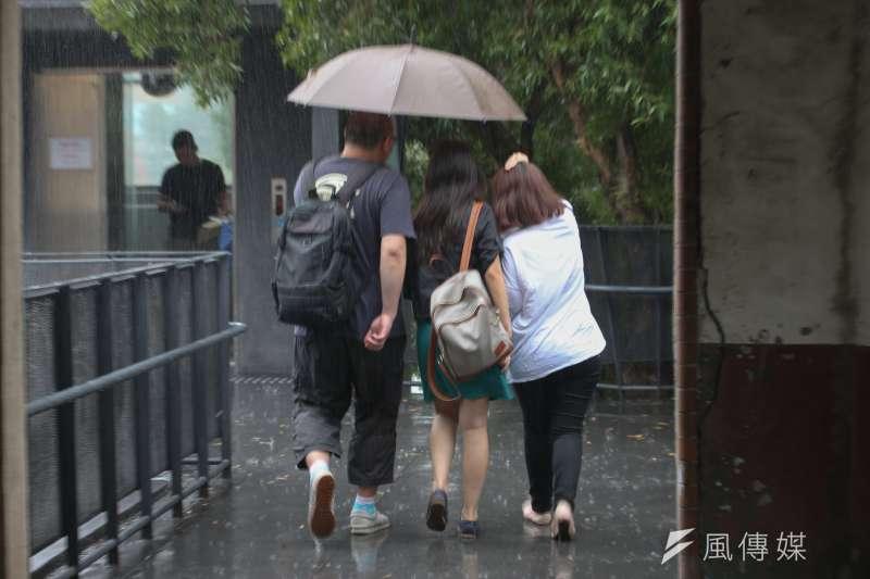 第8號颱風瑪莉亞(MARIA)未來有機會從台灣北端擦過。(資料照,陳明仁攝)