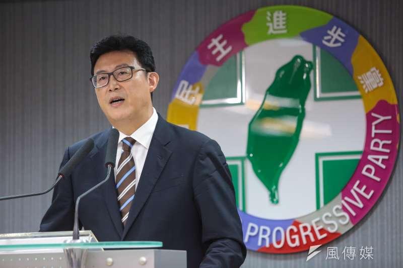 民進黨提名台北市長參選人姚文智,本月23日將舉辦第一場大型造勢晚會,姚文智也透露,總統府秘書長陳菊已經同意當天出席,並且會在晚會壓軸演講。(資料照,顏麟宇攝)