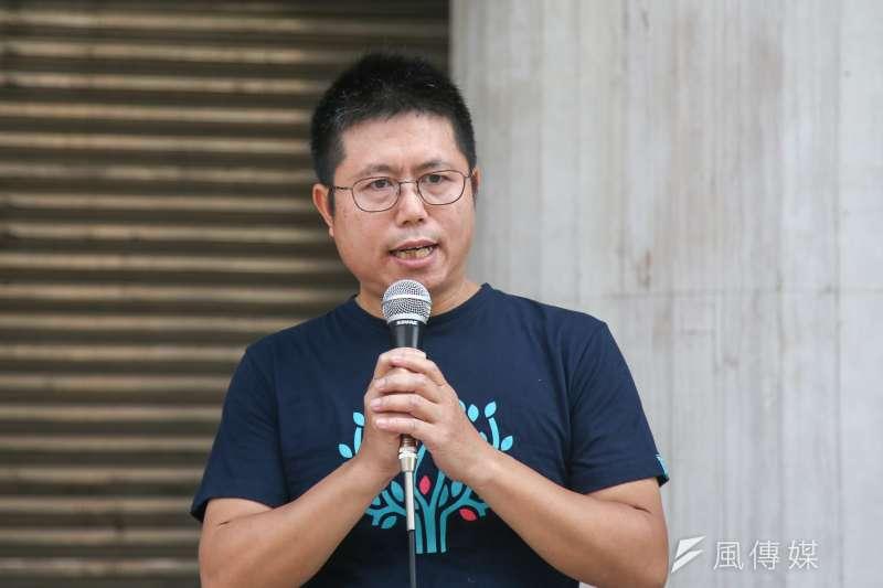 地球公民基金會執行長李根政(陳明仁攝)