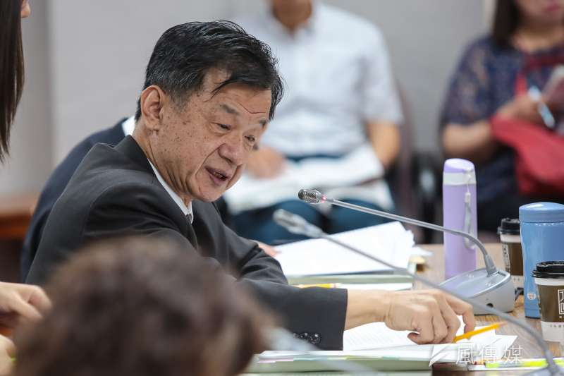 法務部長邱太三認為不能在盛怒下執行死刑。(顏麟宇攝)