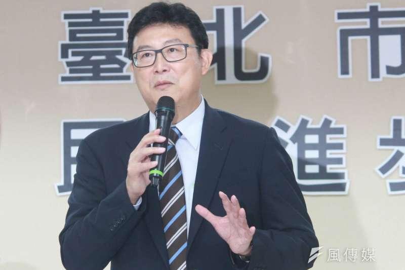 民進黨台北市長參選人姚文智今表示,他推出的青年租屋津貼遭斷章取義。(資料照,方炳超攝)