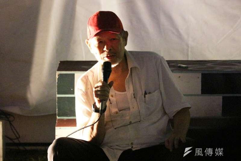 20180530-120草原自治區舉辦舊事重提講座,藝術家王墨林出席。(陳韡誌攝)