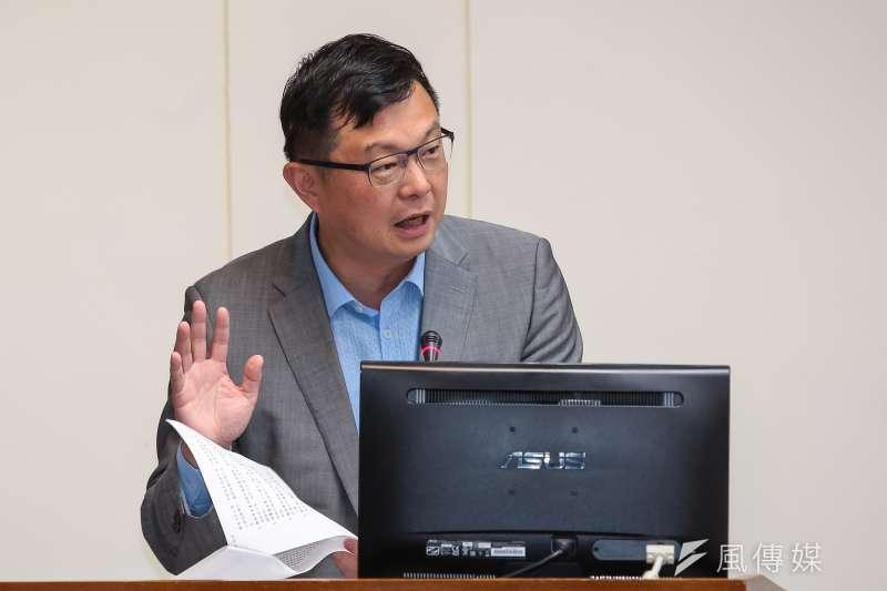 20180531-農委會副主委李退之31日於經濟委員會備詢。(顏麟宇攝)