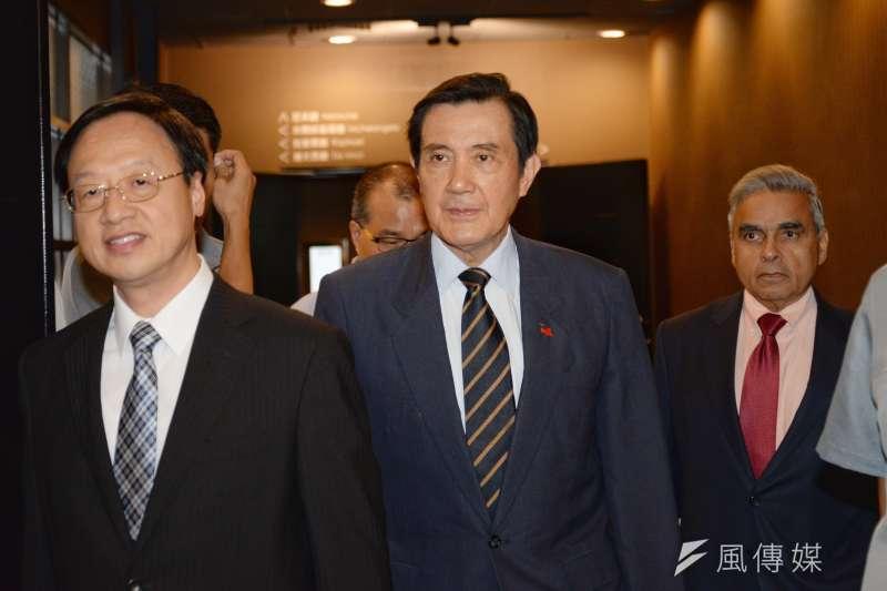 李應元表示,前總統馬英九當政時,受到外界壓力才把核四停下來,現在又講要恢復核四,這是很不負責任的態度。(資料照,甘岱民攝)