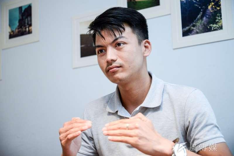 20180601-泰國記者Kongpob Areerat訪問。(甘岱民攝)
