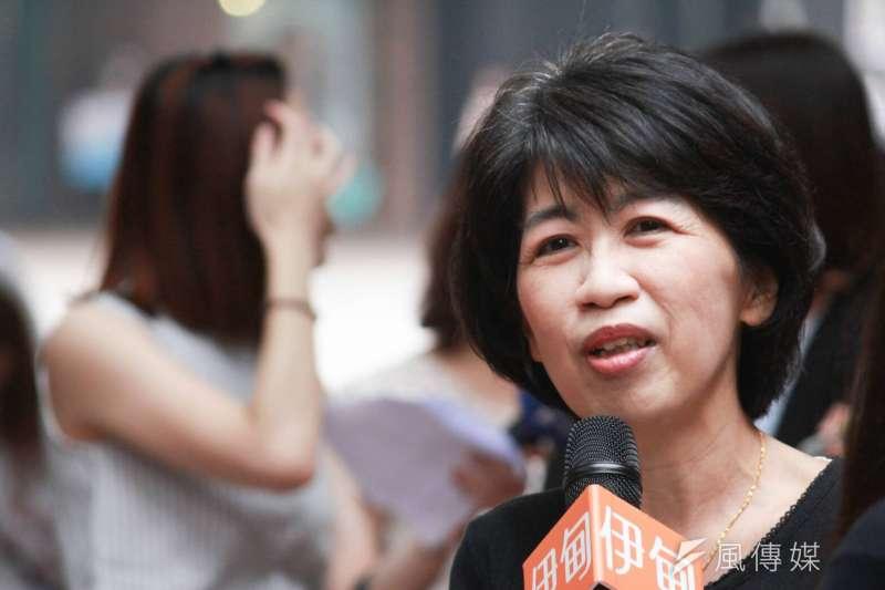 陳佩琪說,她今天起擺脫過去市長夫人出門「揮揮手、微微笑」的溫良恭儉讓形象,重返2014年先生尚無官職時那個「自走砲」的陳佩琪。(資料照,方炳超攝)