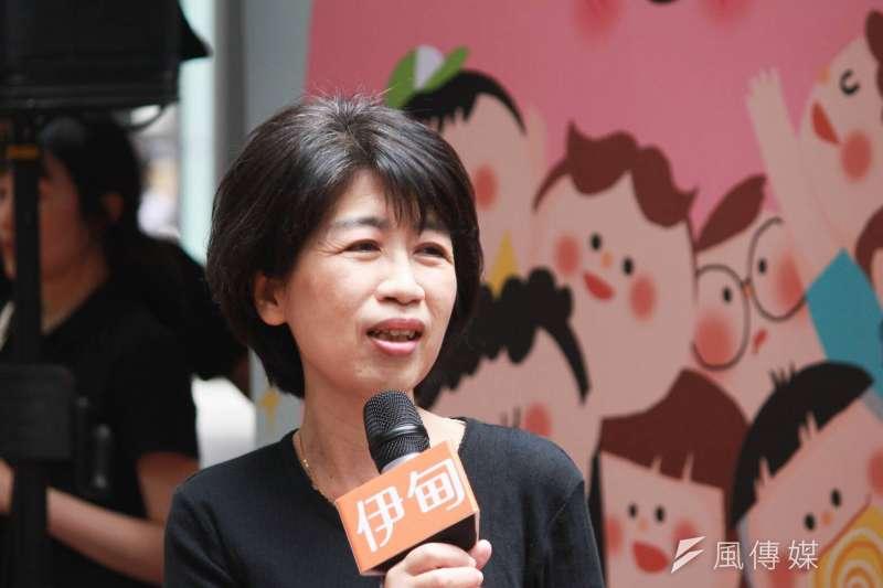 陳佩琪說,台灣若大規模打做到二期的疫苗,就變成最大的二期加三期的人體實驗場。(資料照,方炳超攝)
