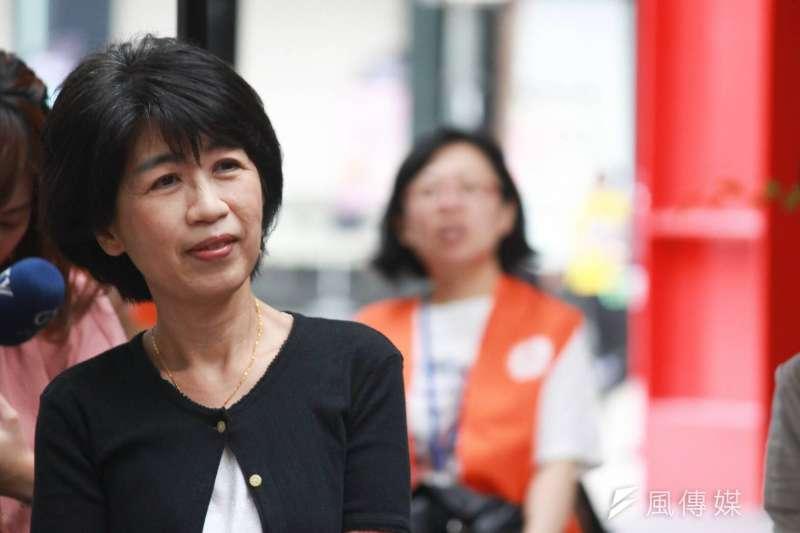 台北市長柯文哲夫人陳佩琪承認,的確有建議柯文哲早日補助輪狀病毒疫苗接種。(資料照,方炳超攝)