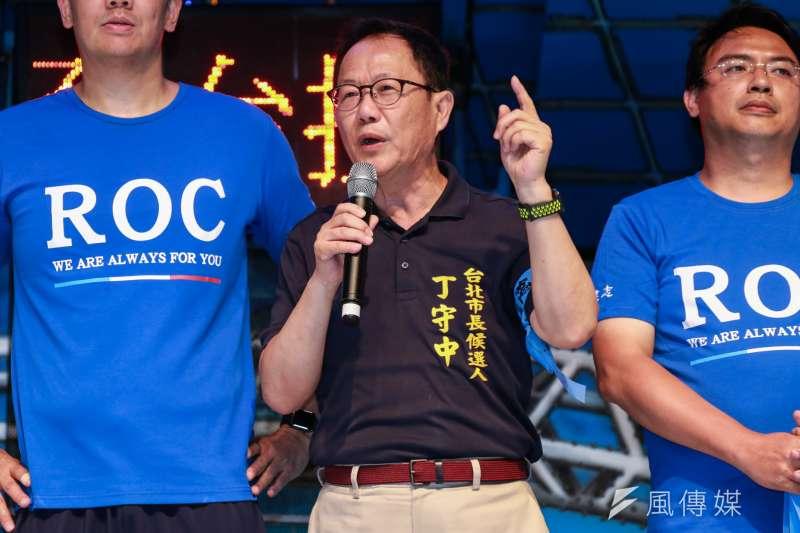 國民黨台北市長參選人丁守中3日表示,只要他一當上市長,就馬上換掉吳音寧。(資料照,簡必丞攝)