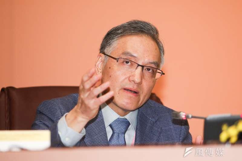 中研院組織與運作改進委員會3日將首次提出報告,。組改會發言人朱雲漢受訪僅說會有具體建議。(陳明仁攝)