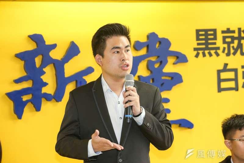 新黨發言人王炳忠表示,過去和獨派交手也不少,當他和那些理性思考的獨派辯論,也有助於自己重整自己的思路。(資料照,陳明仁攝)
