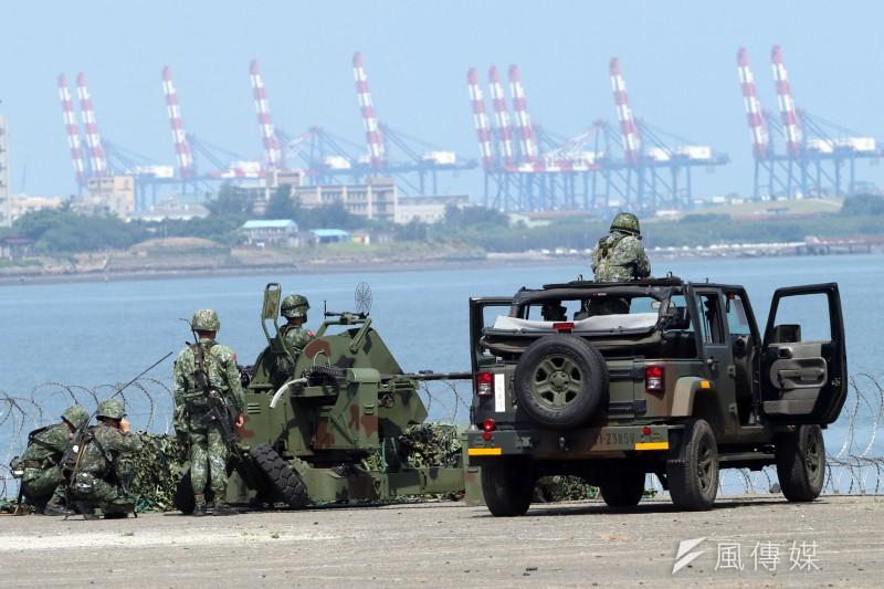 國防部23日中午表示,中華民國長期以來都是亞太地區維持和平、穩定的重要成員,而堅強的國防實力,是護衛台海和平及國家安全最有力的後盾。(資料照,蘇仲泓攝)