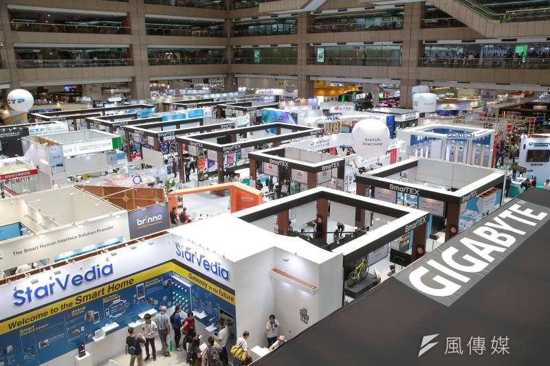 20180605-2018台北國際電腦展。(顏麟宇攝)