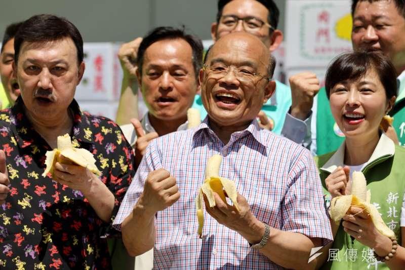 民進黨新北市長參選人蘇貞昌說,居住安全、居住正義都是未來要推動住宅政策,問題要並重,這不是零和的問題。(資料照,蘇貞昌辦公室提供)
