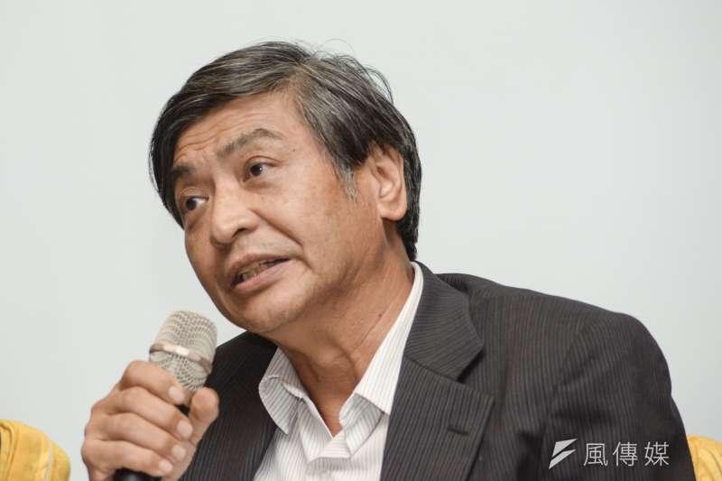 法律系教授郭明政將接下政大校長。(資料照,甘岱民攝)